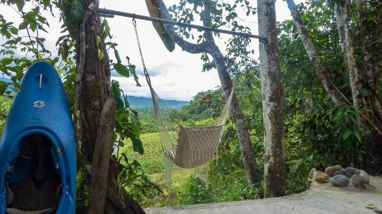 Relaxing scenery one can enjoy while in the hammock