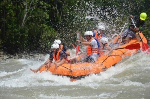 Rafting Jatun Yacu River, Ecuador
