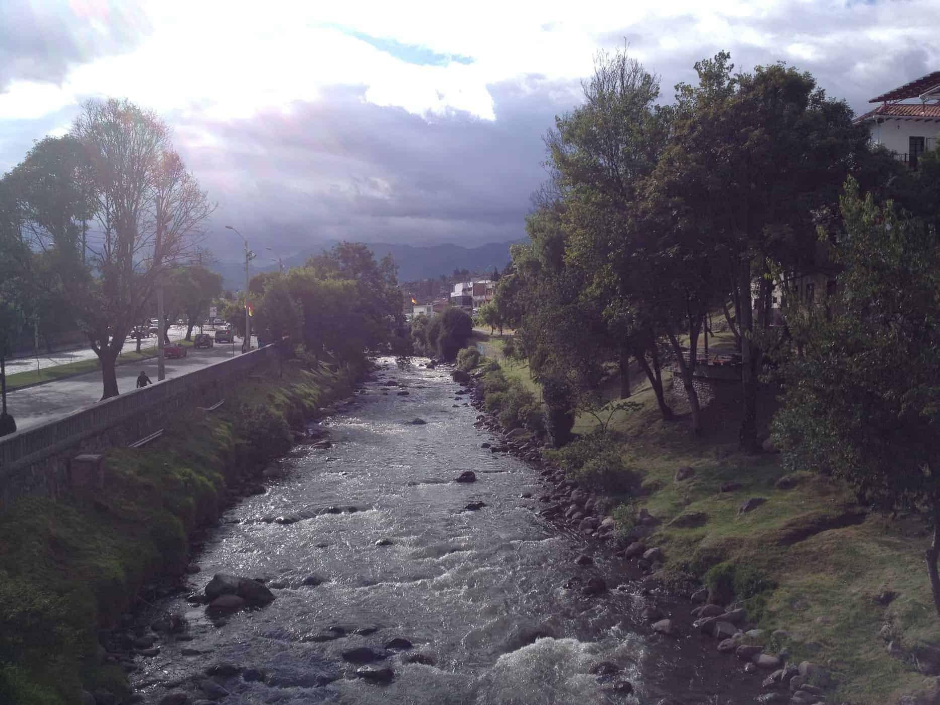 Rio Tomebamba, Cuenca