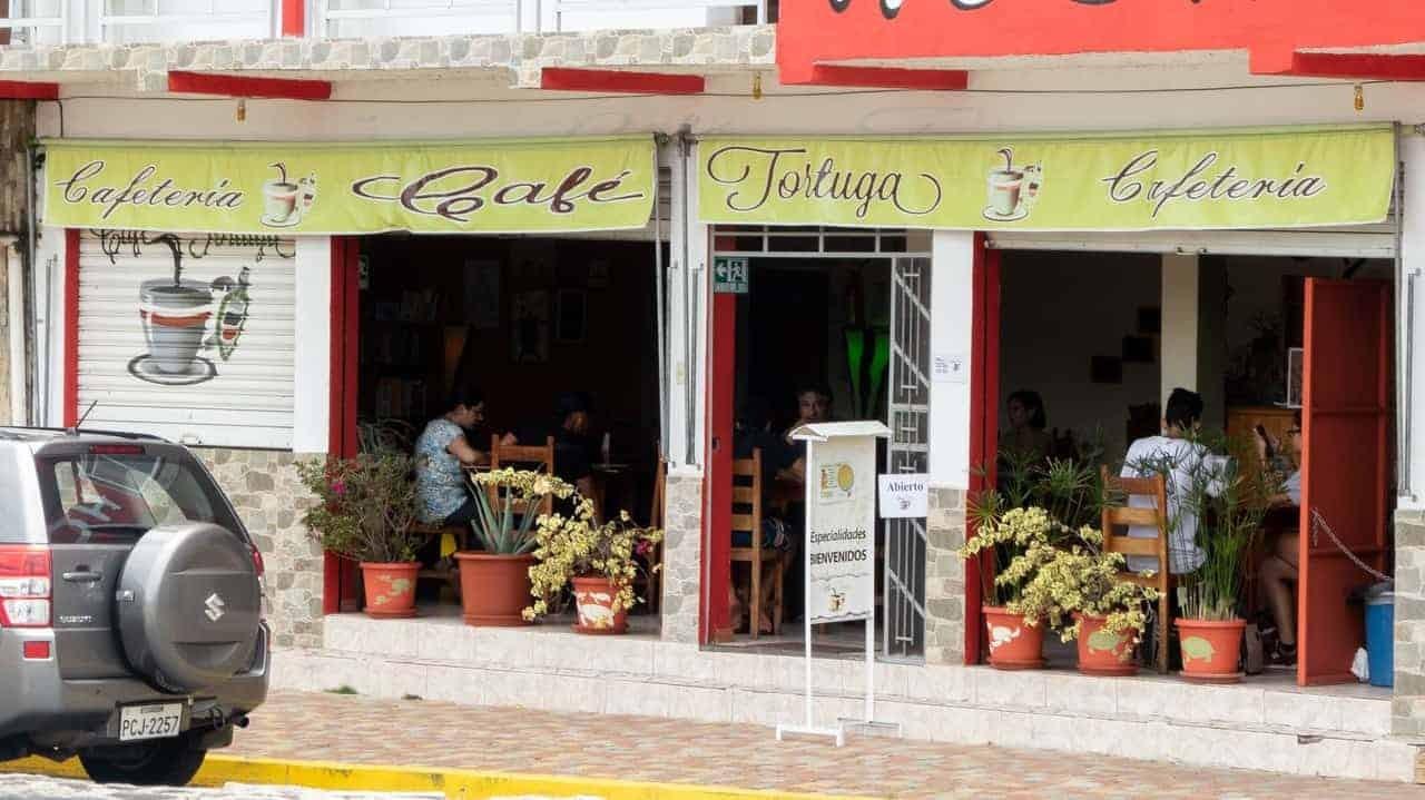 Cafe Tortuga, Tena, Ecuador