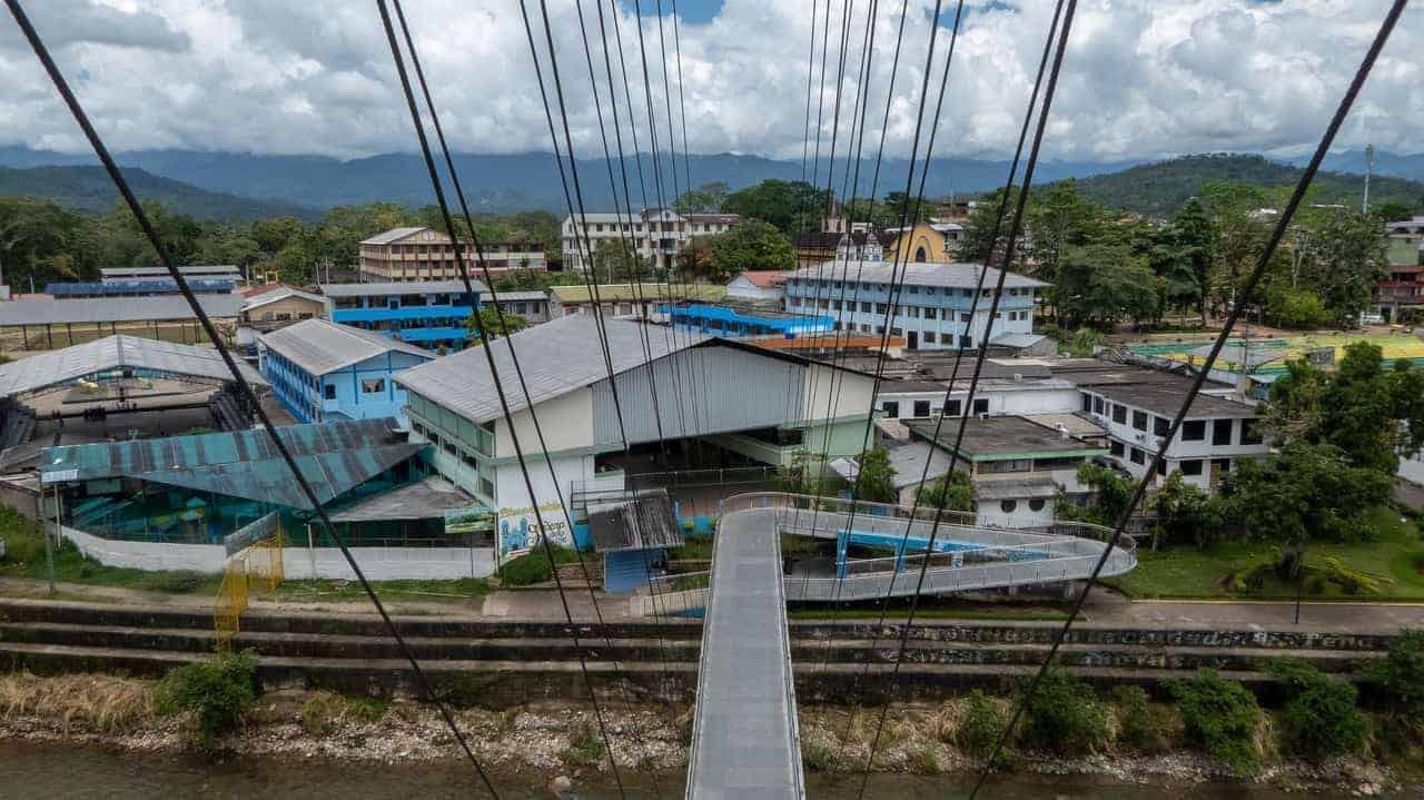 Tena, Ecuador - view from tower