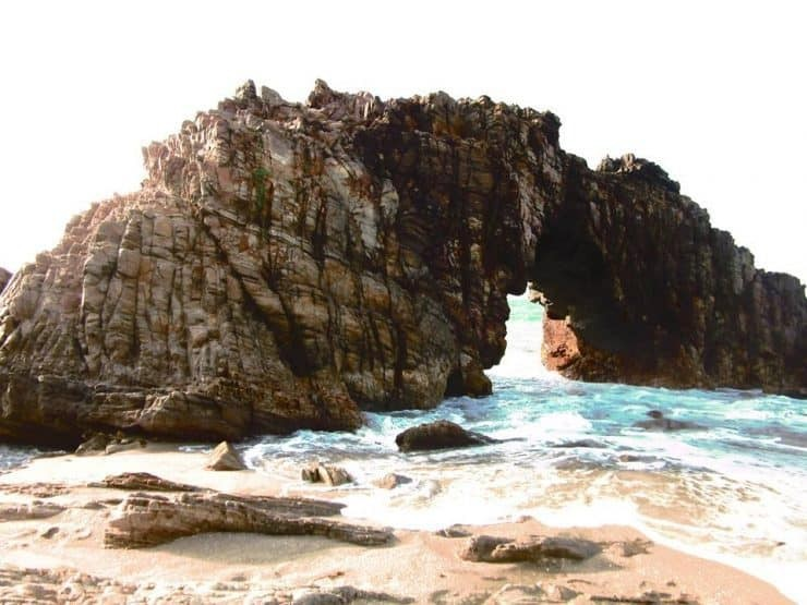 A Natural Stone Archway in Jericoacoara