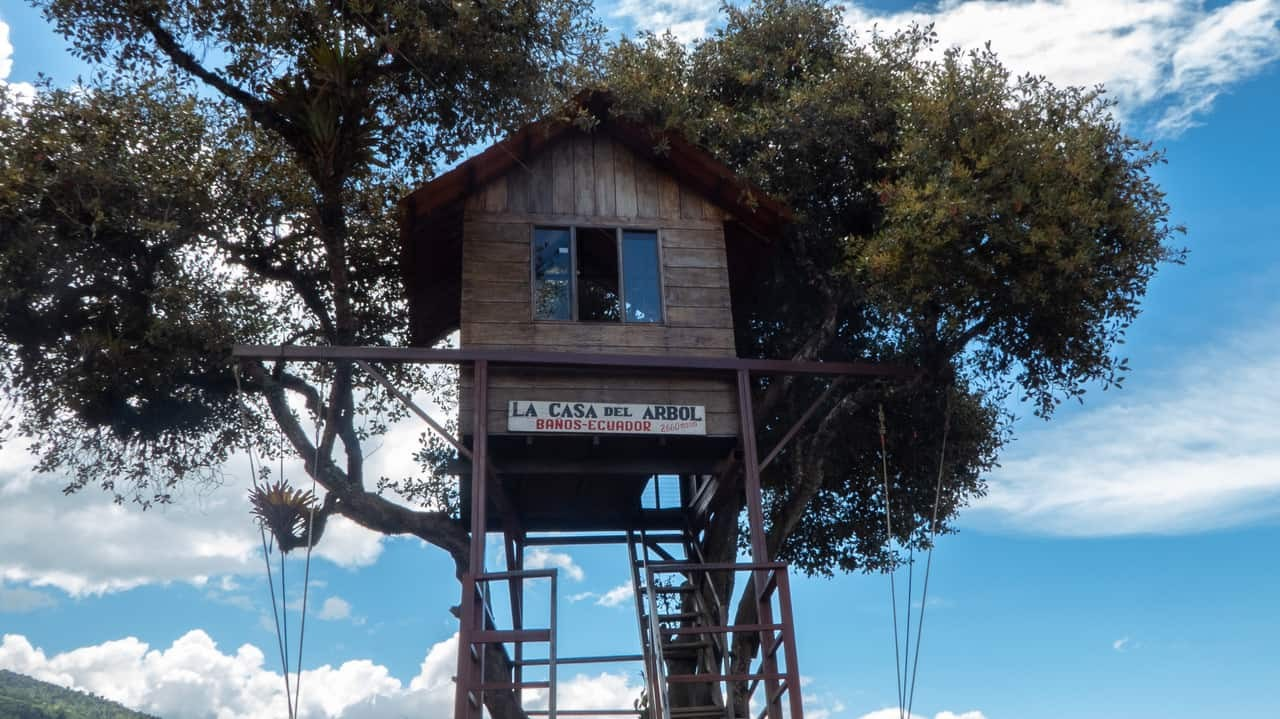 Casa del Arbol (Treehouse), Baños, Ecuador