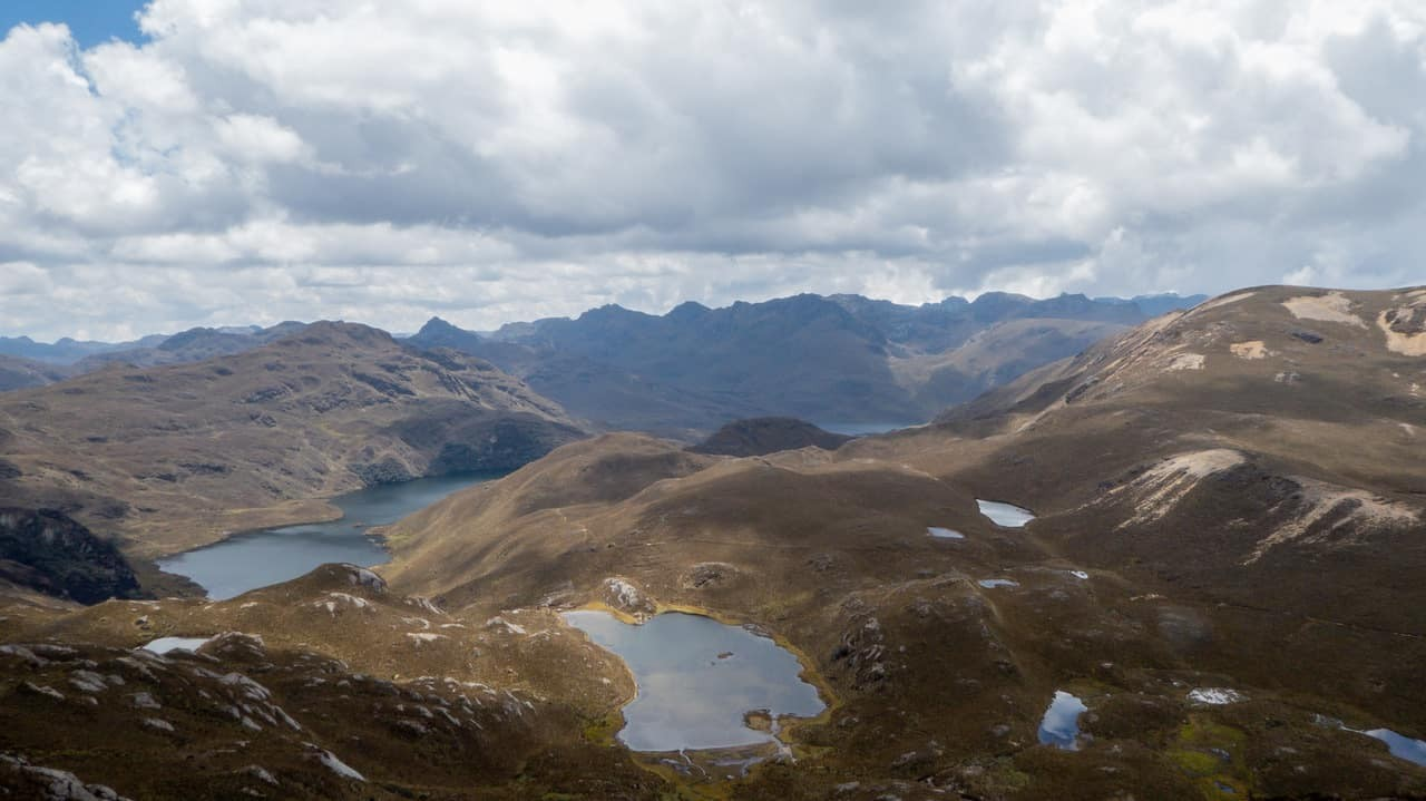 Cajas National Park, just 45 minutes outside of Cuenca.