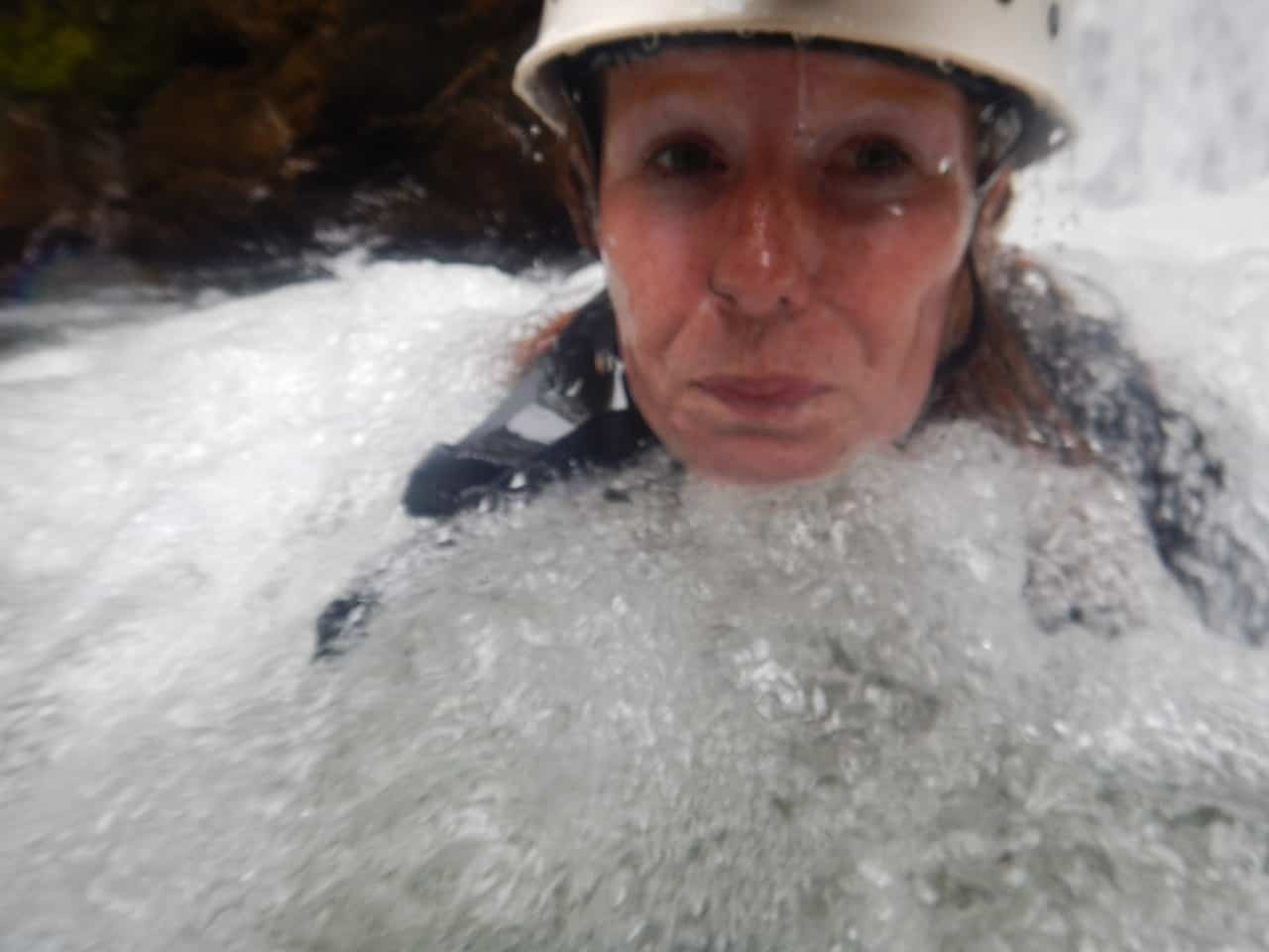 Washing away exhilaration but keeping all the memories of this adventure with Takiri Travel, Ecuador