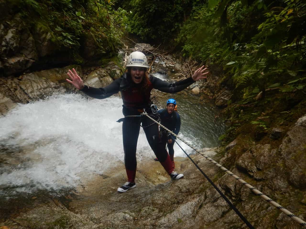 Taking a break in the mid-air to take delight in nature's beauty - Takiri Travel, Ecuador
