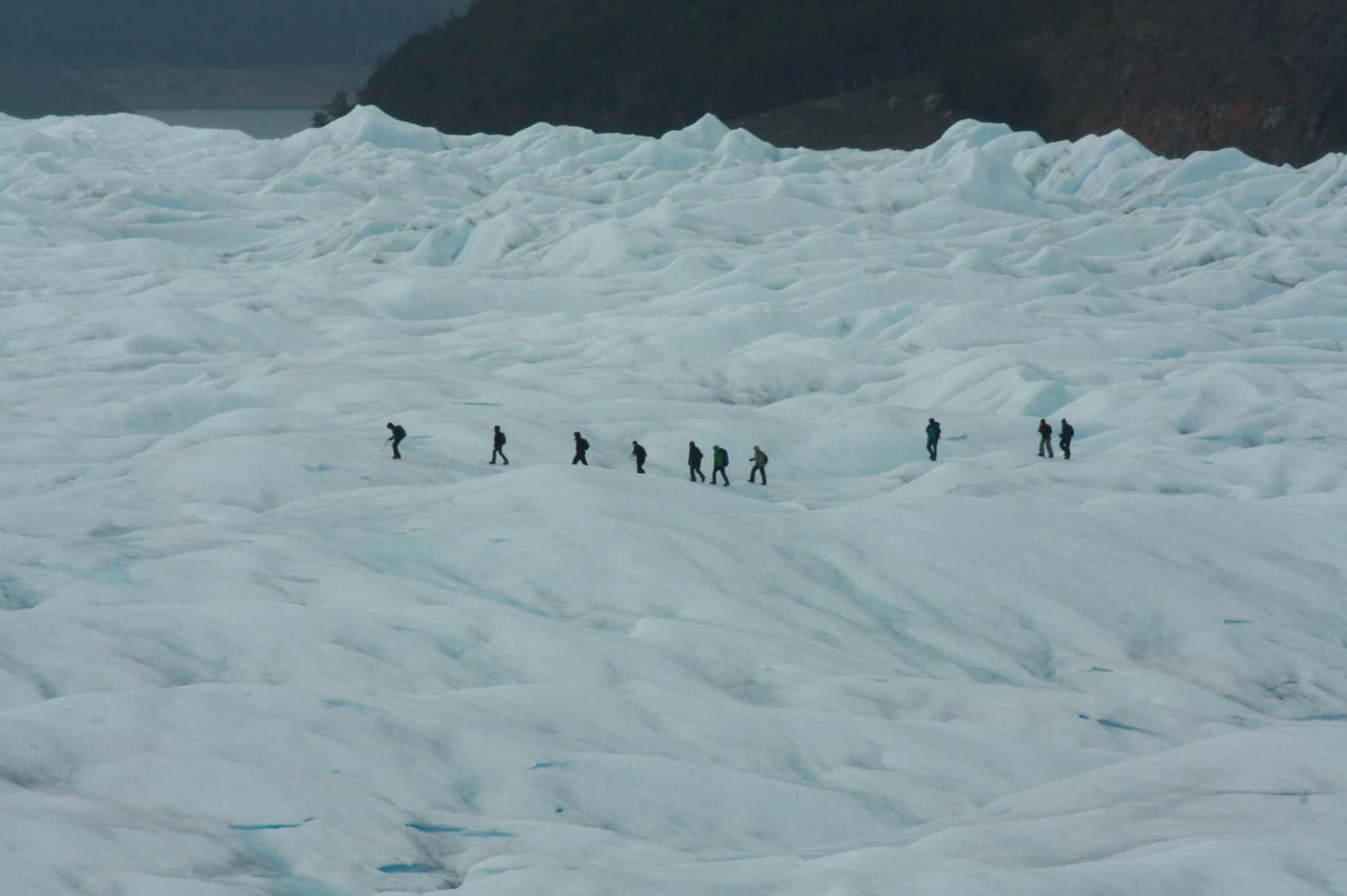 The amazing Perito Moreno Glacier, El Calafate, Argentina.