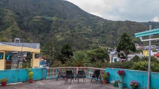 Erupcion hostel, Baños, Ecuador