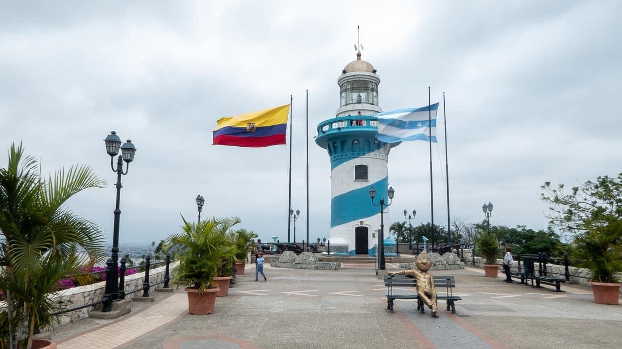 The Lighthouse in Cerro Santa Ana, Guayaquil, Ecuador