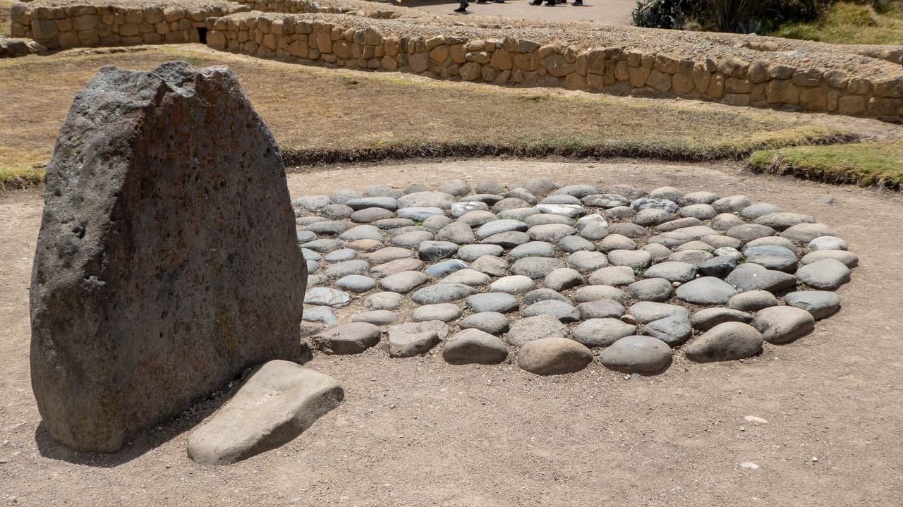 A tomb in Ingapirca Ruins, Ecuador