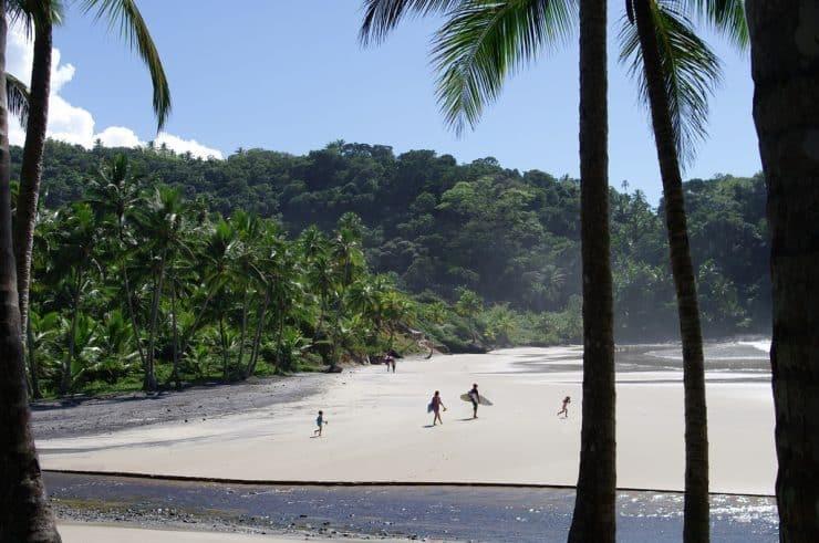 A Pristine Beach in Itacaré, Brazil