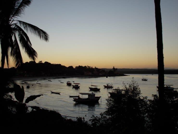 Sunset in Itacaré, Brazil