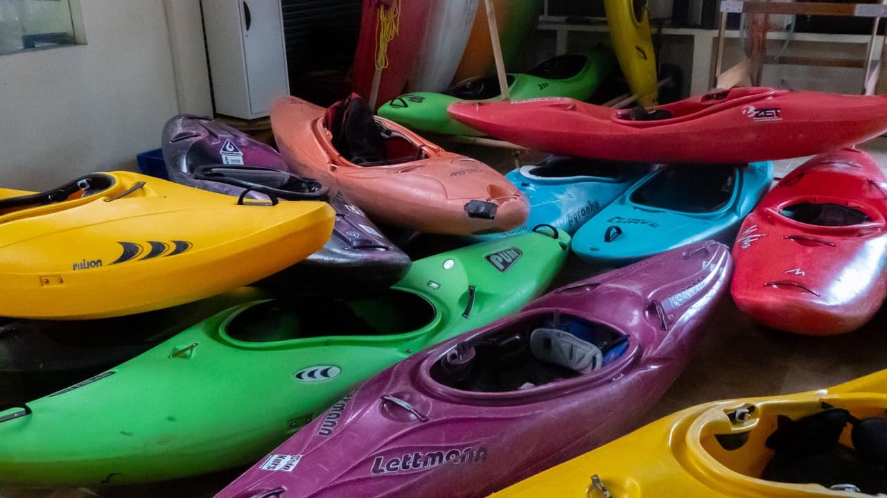 Kayaks Of All Colours