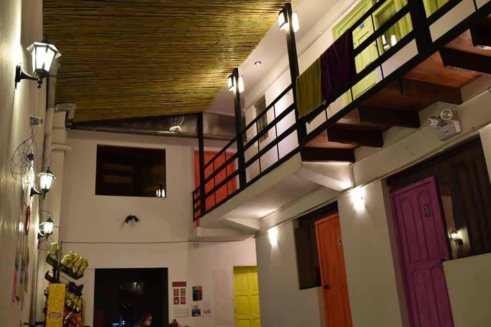 Bright colours enhance the easy ambience of Klix, Cusco, Peru