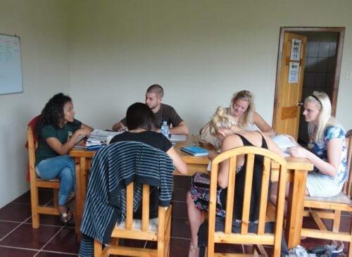 Spanish classes in Montañita, Ecuador