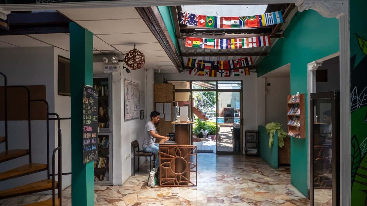 Accommodating staff is one of the assets of Hostel Nucapacha, Guayaquil, Ecuador