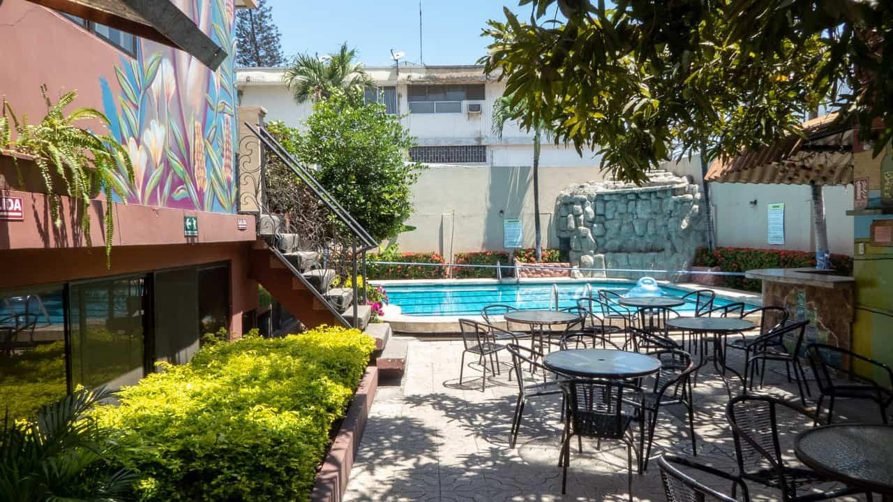 Inspiring outdoor of Hostel Nucapacha, Guayaquil, Ecuador
