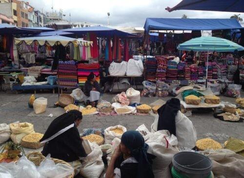 Otavalo Market, Quito