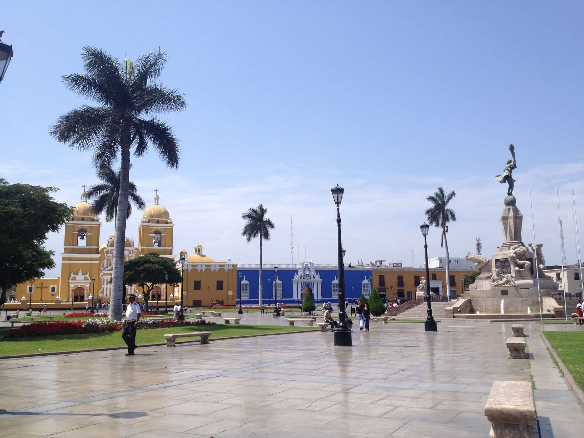 Trujillo - Plaza de Armas, Peru