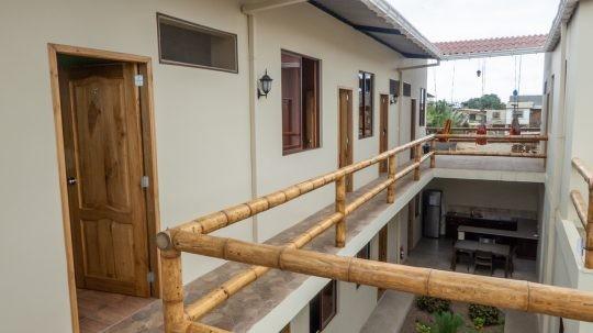 Upstairs at Hostel Pachamama