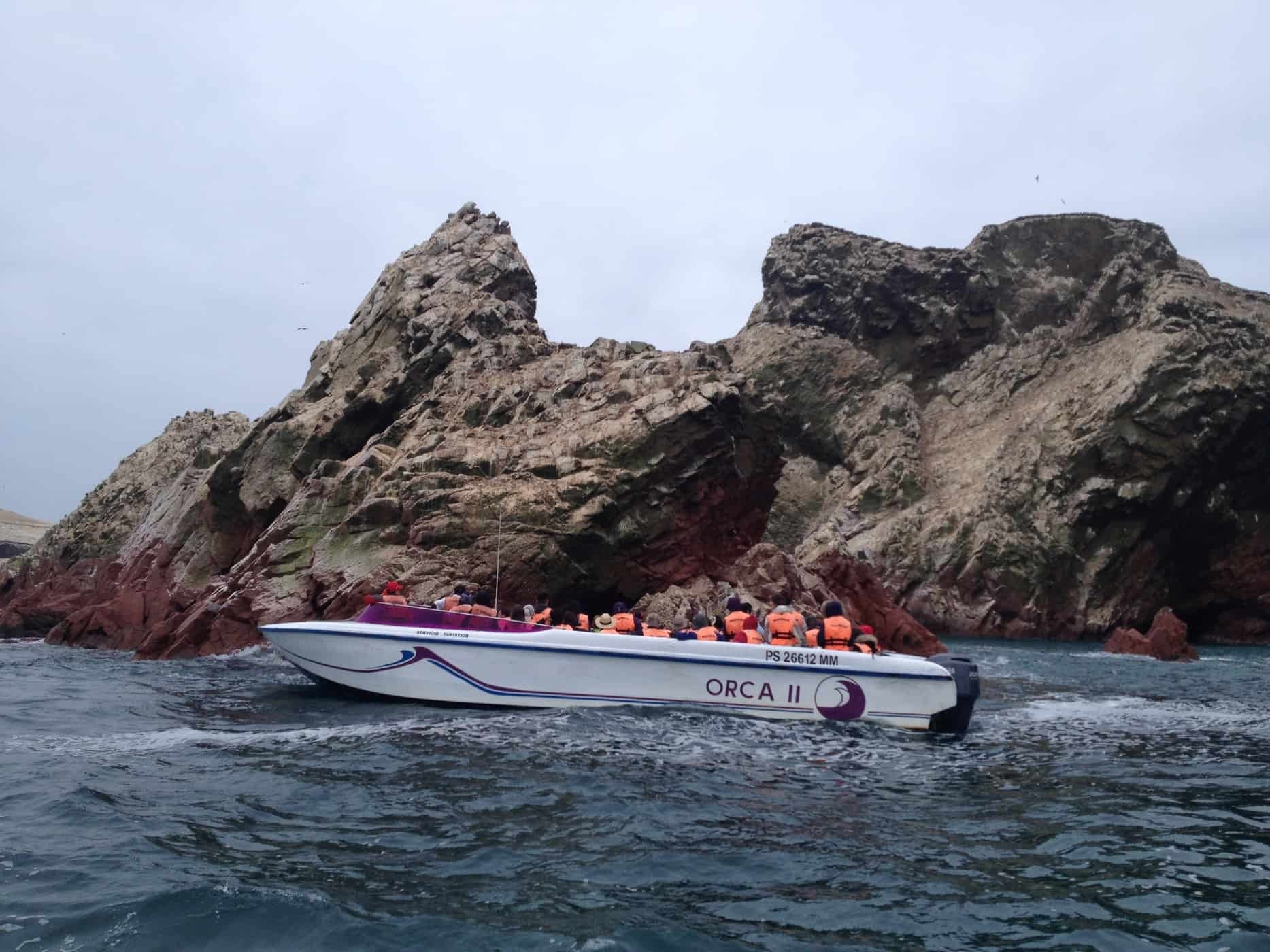 Boat trip to Islas Ballestas from Paracas Peru