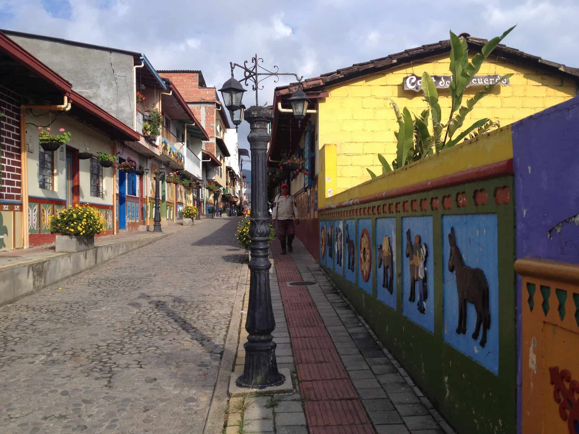 The colourful streets of Guatapé, Colombia/