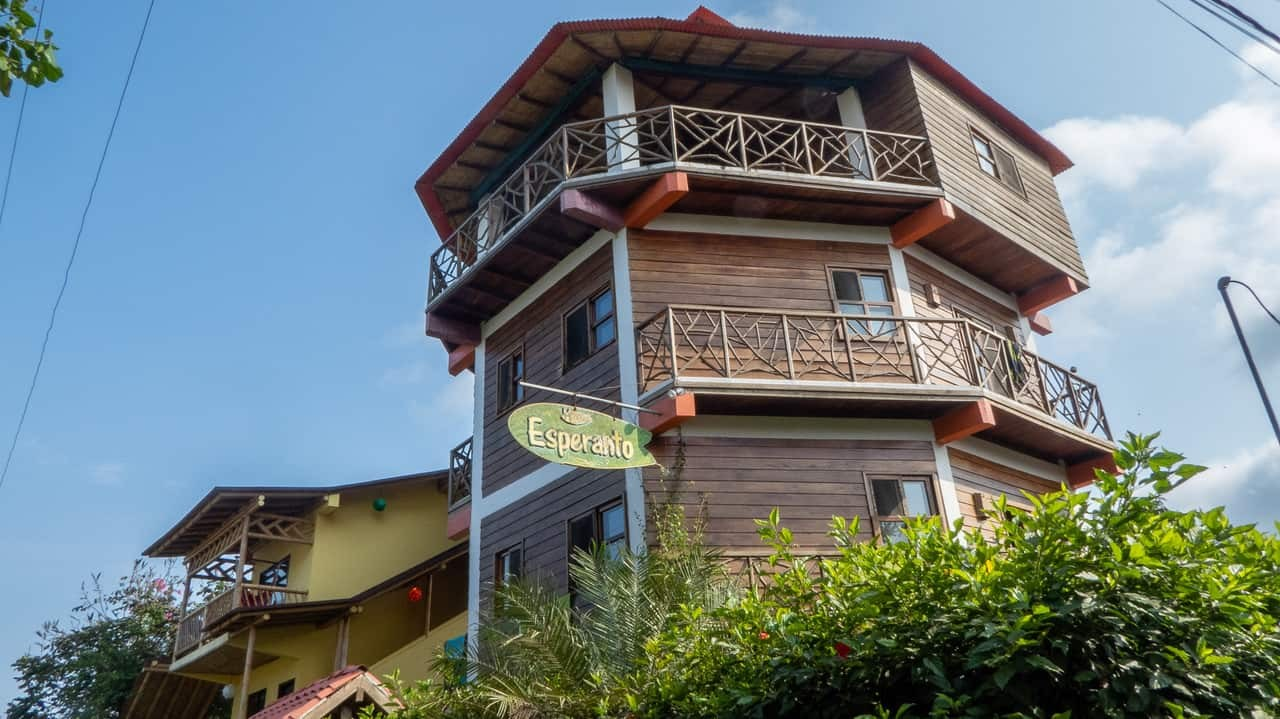 Esperanto Hostel Montañita, Ecuador