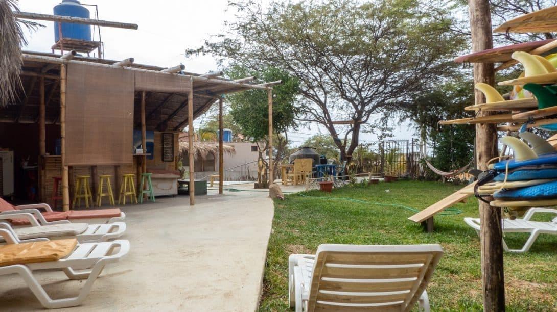 Geko Hostal, Máncora, Peru