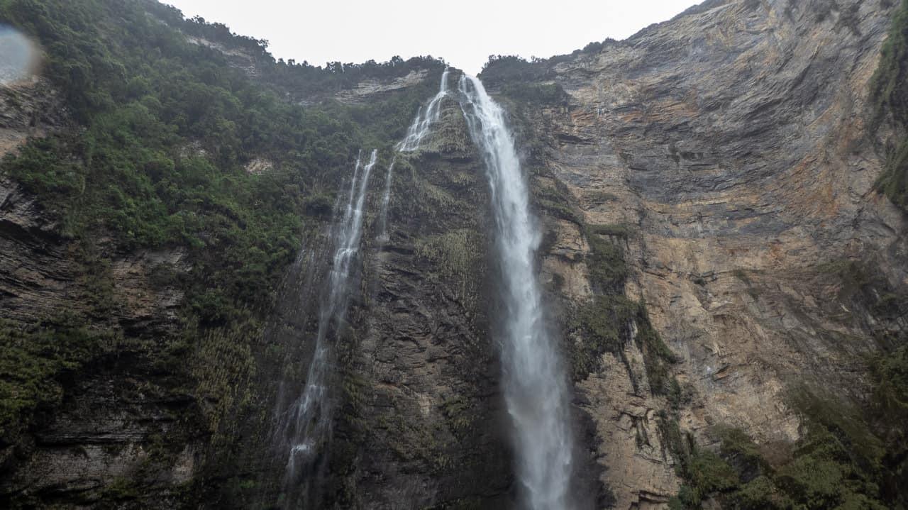 The Waterfall, Catarata de Gocta. Chachapoyas, Peru.
