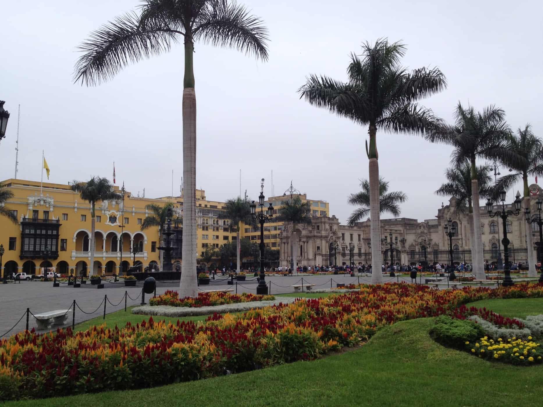 The ubiquitous grey skies of Lima