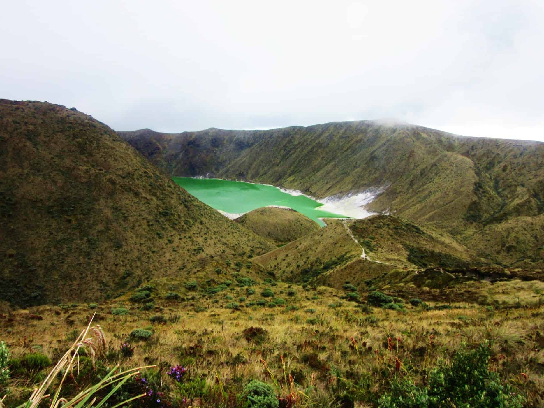 Laguna Verde, Colombia - two hours from Pasto.