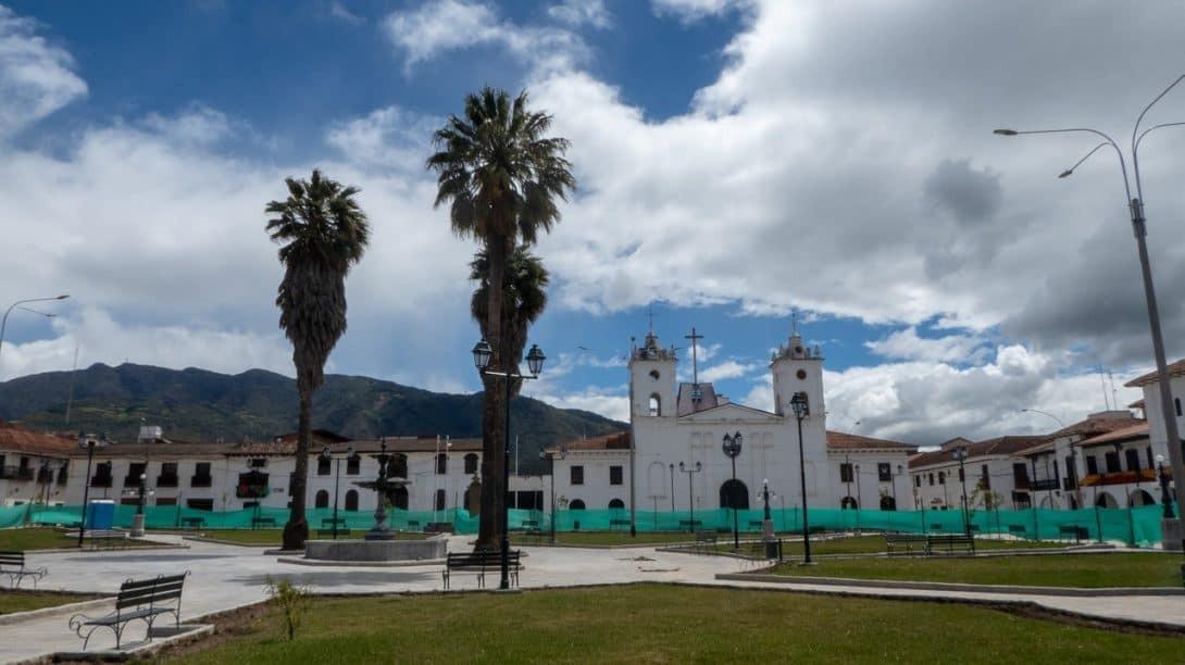 Plaza de Armas Chachapoyas Peru