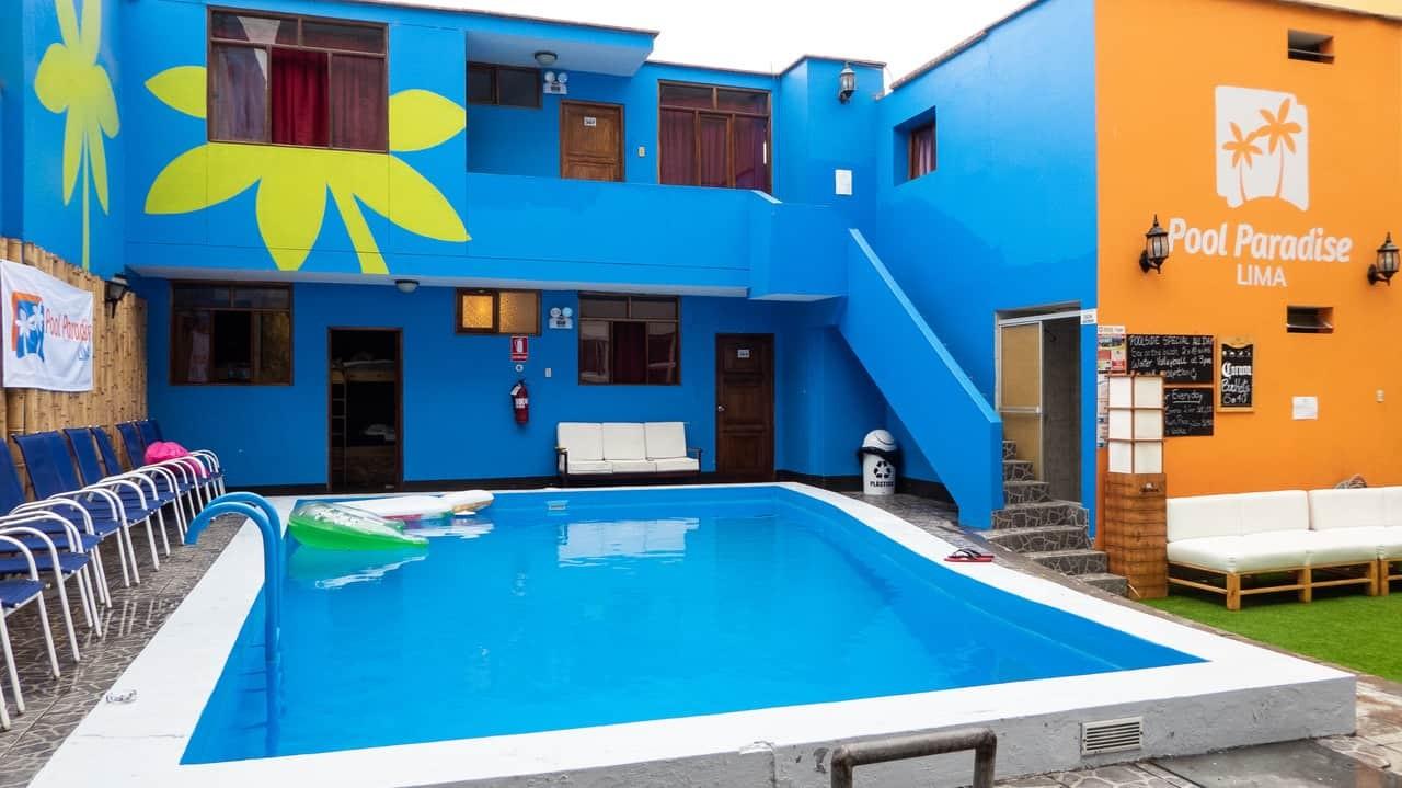Pool Paradise Hostel - Lima, Peru