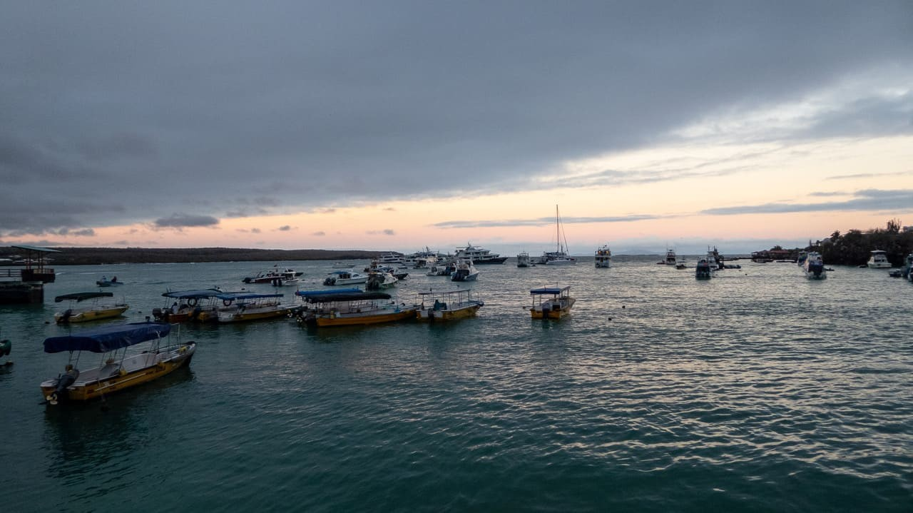 A Ferry Port - Galapagos Islands Ecuador