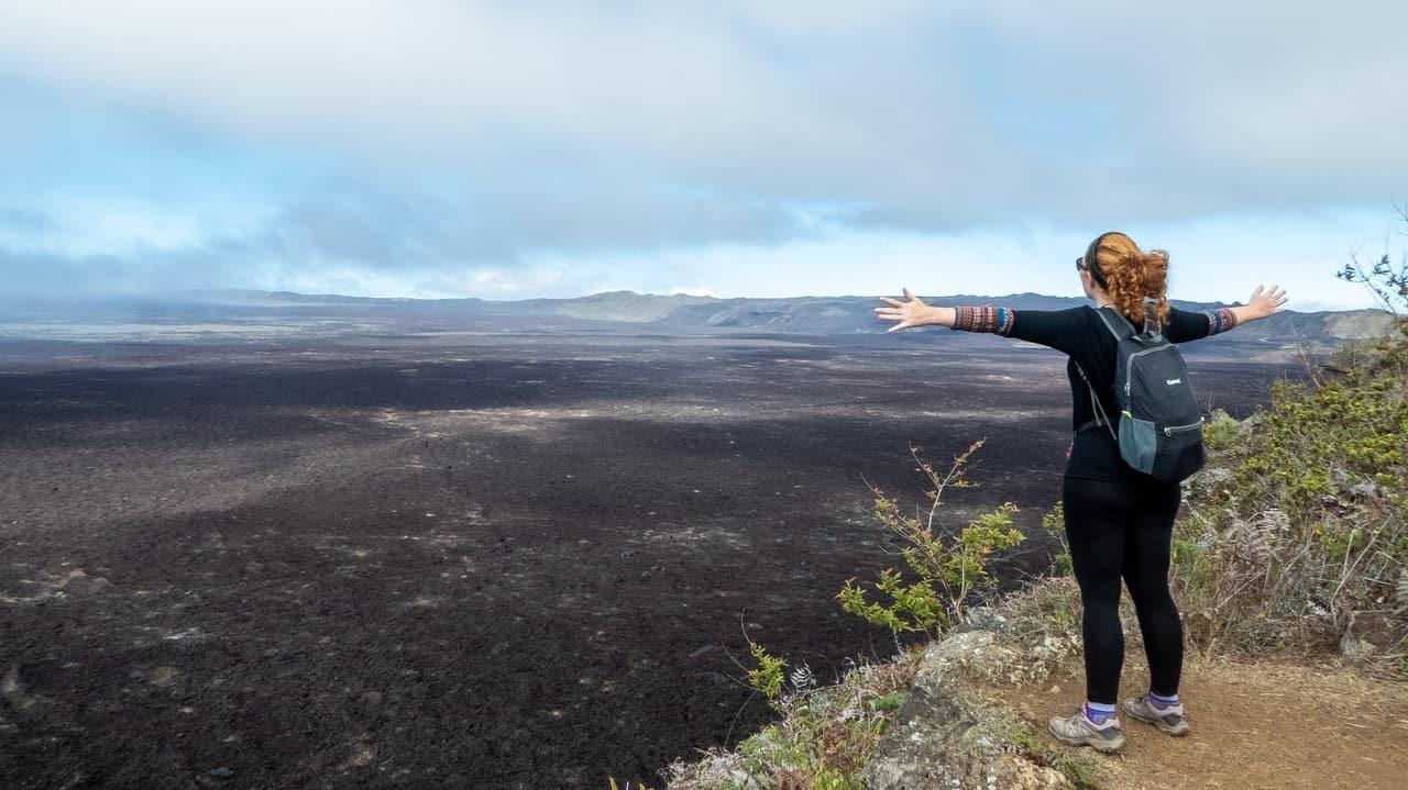 Sierra Negra Volcano, Isla Isabela, Galapagos Islands, Ecuador.