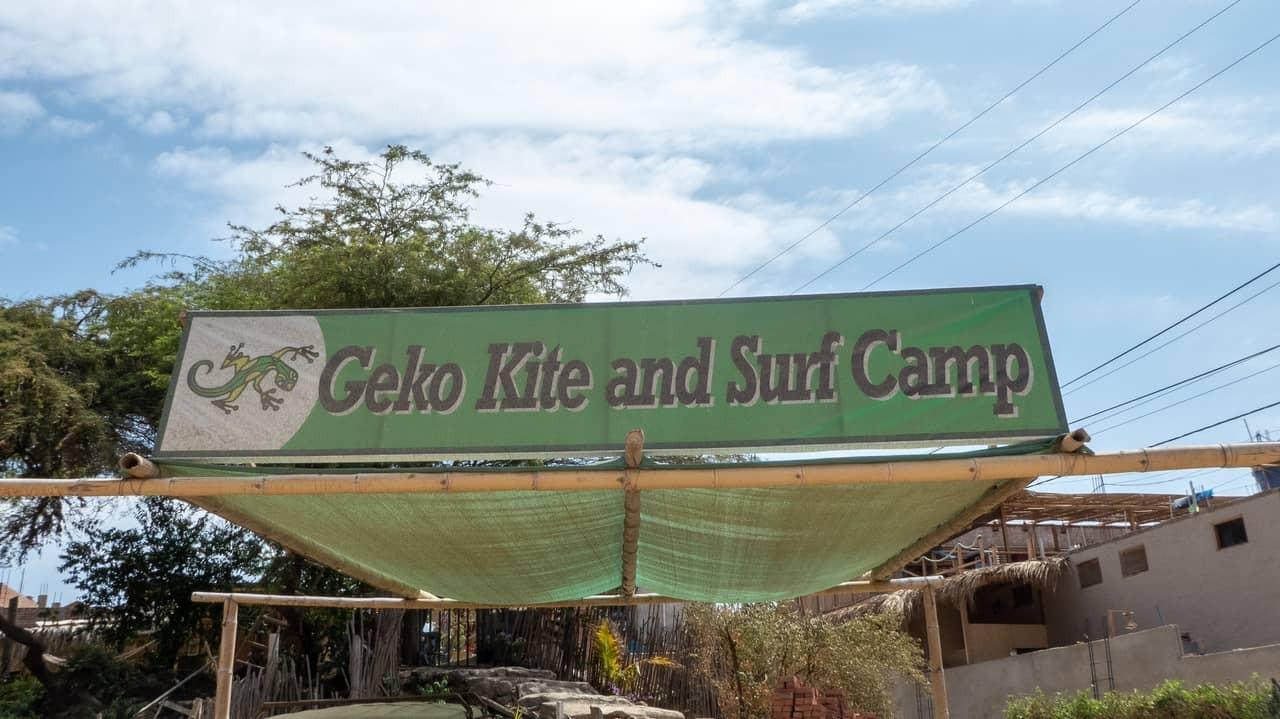 Geko Hostel also offers Kite and Surf lessons. Mancora, Peru.