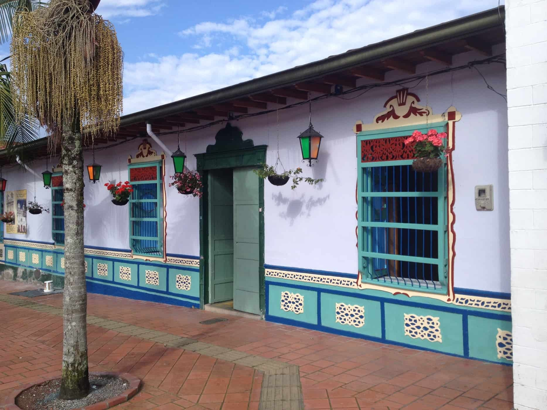 Streets of Guatapé, Colombia.