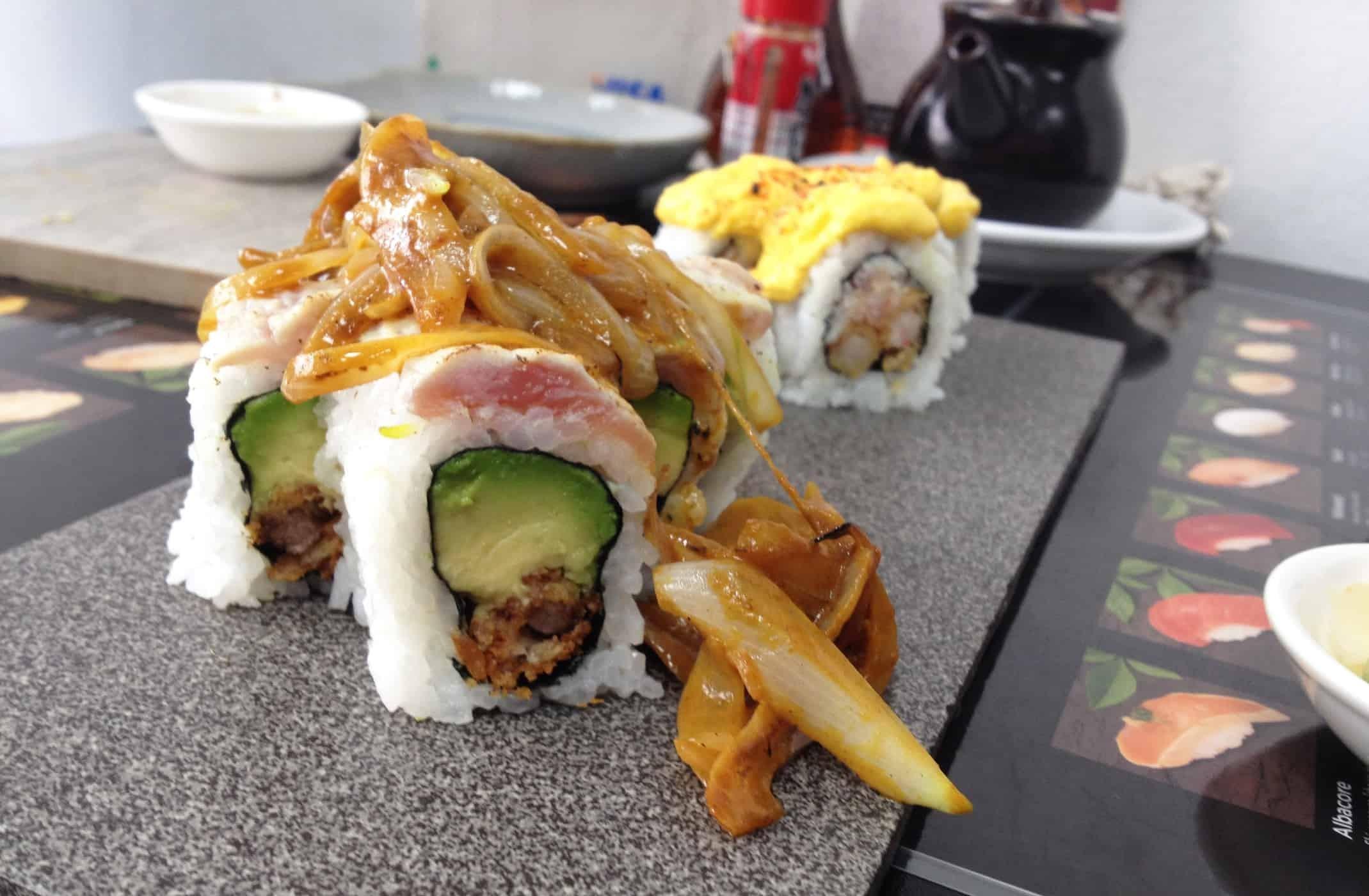 Fusion sushi in Barranco, Lima.