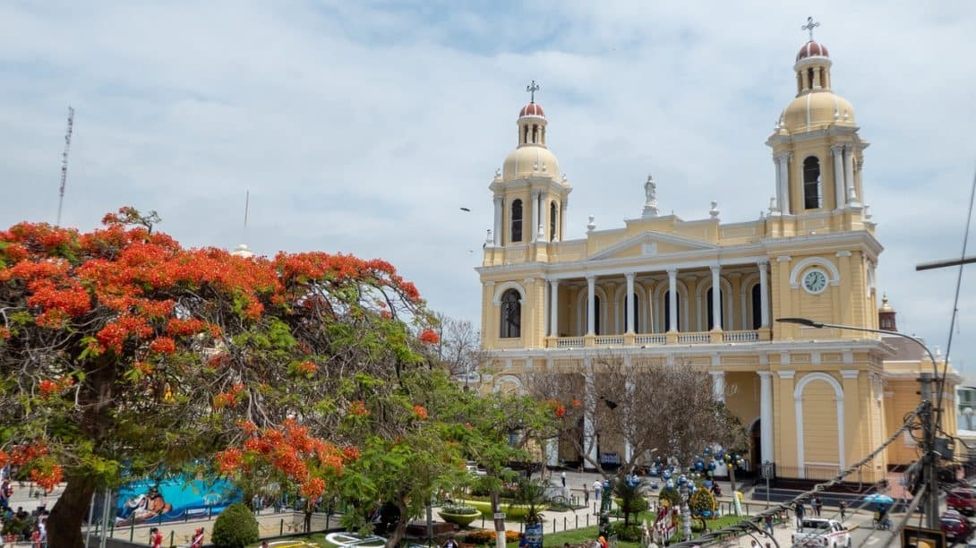The Cathedral in Chiclayo, Peru