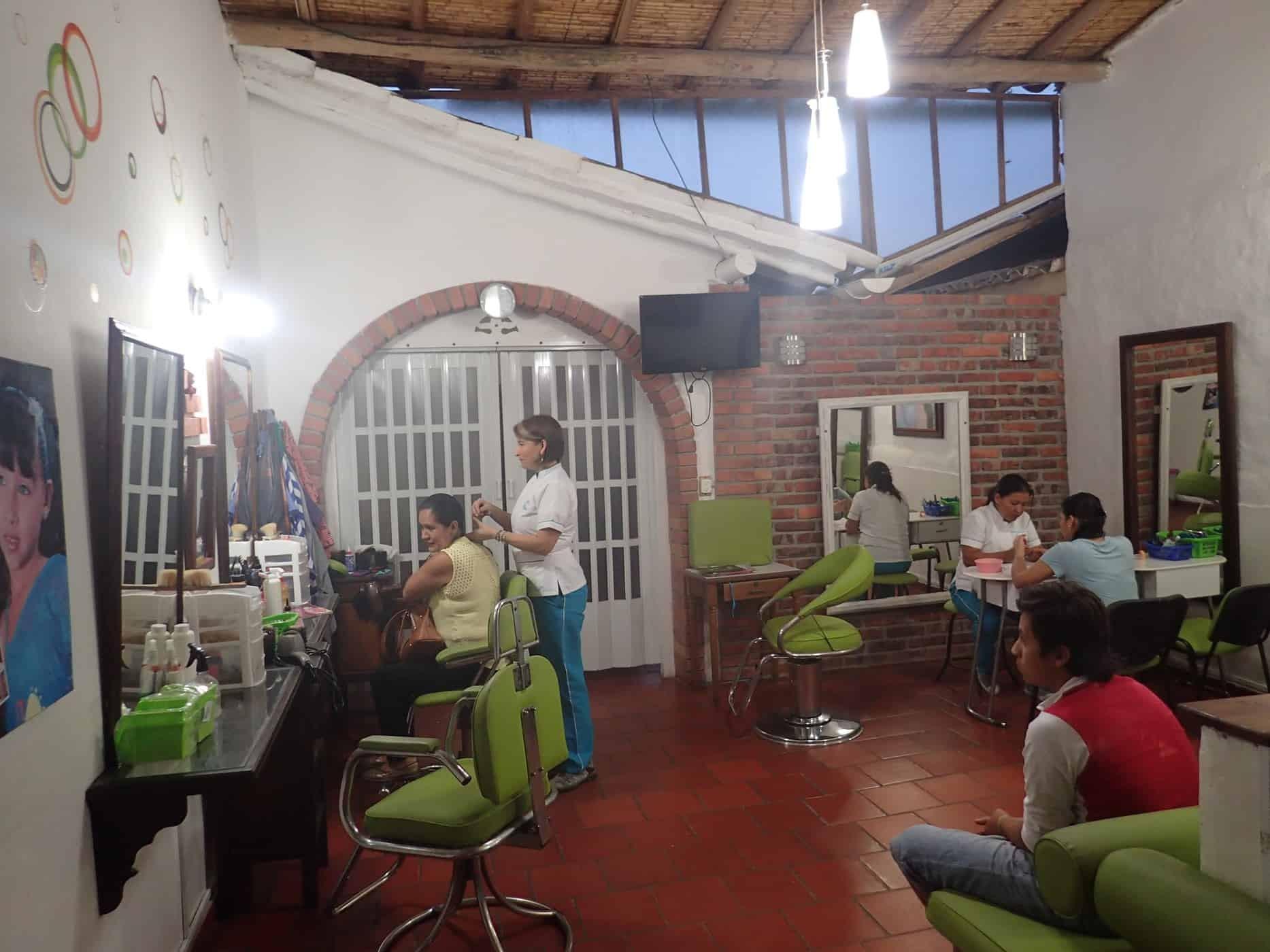 Yaja Sala de Belleza in Barichara, Colombia.