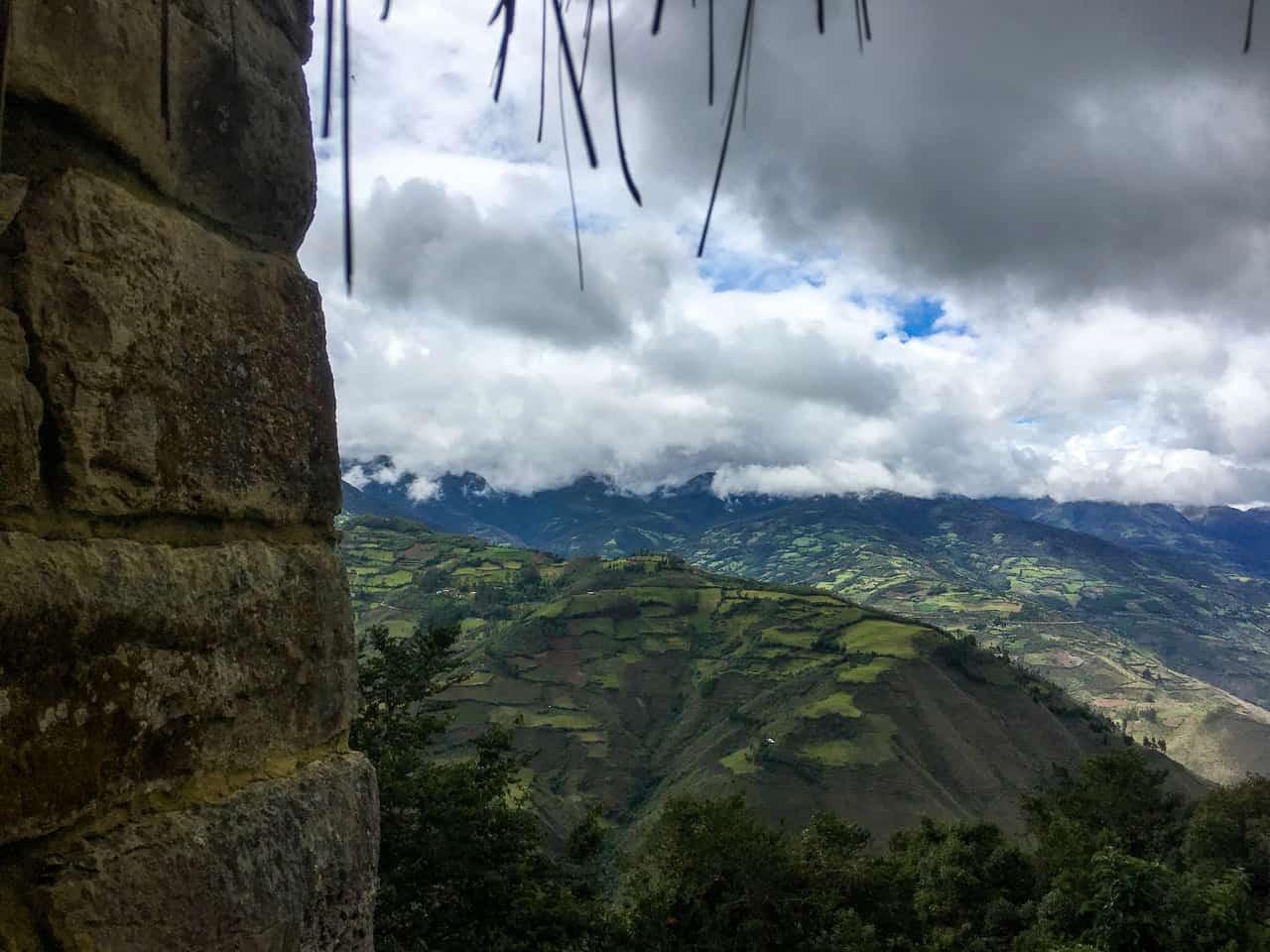 Amazing scenery around Kuelap, Northern Peru