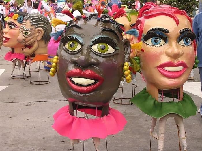 Black and White Festival Pasto Colombia