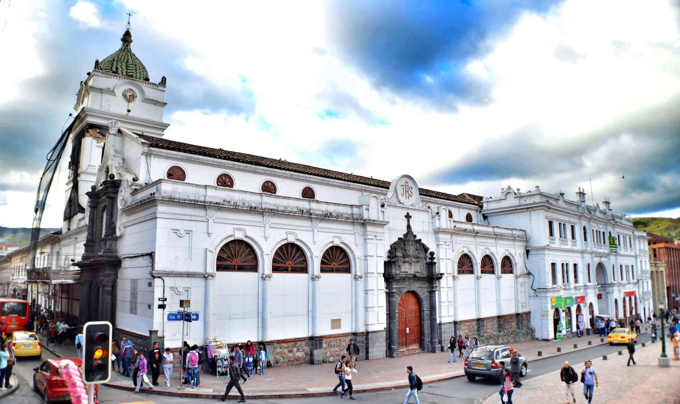 Iglesia San Juan Bautista in Pasto, Colombia