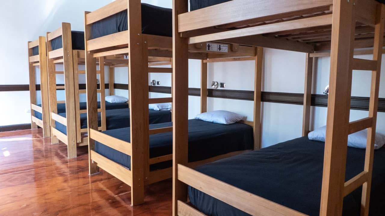Dorm rooms at Orchid Hostels, Lima