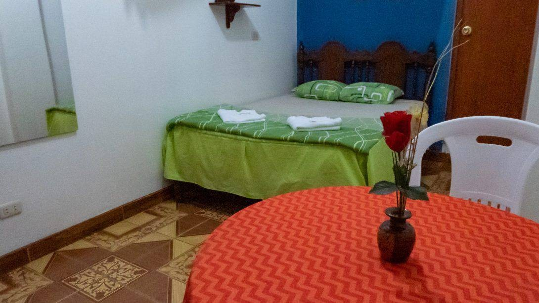 Spacious private ensuite rooms at Nasca Trails B&B