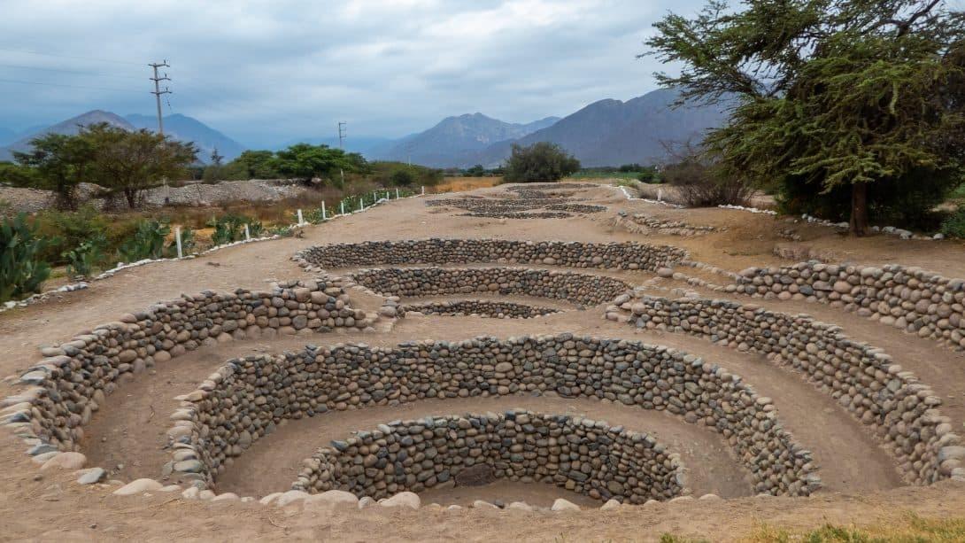 Cantalloc Aqueducts in Nasca, Peru