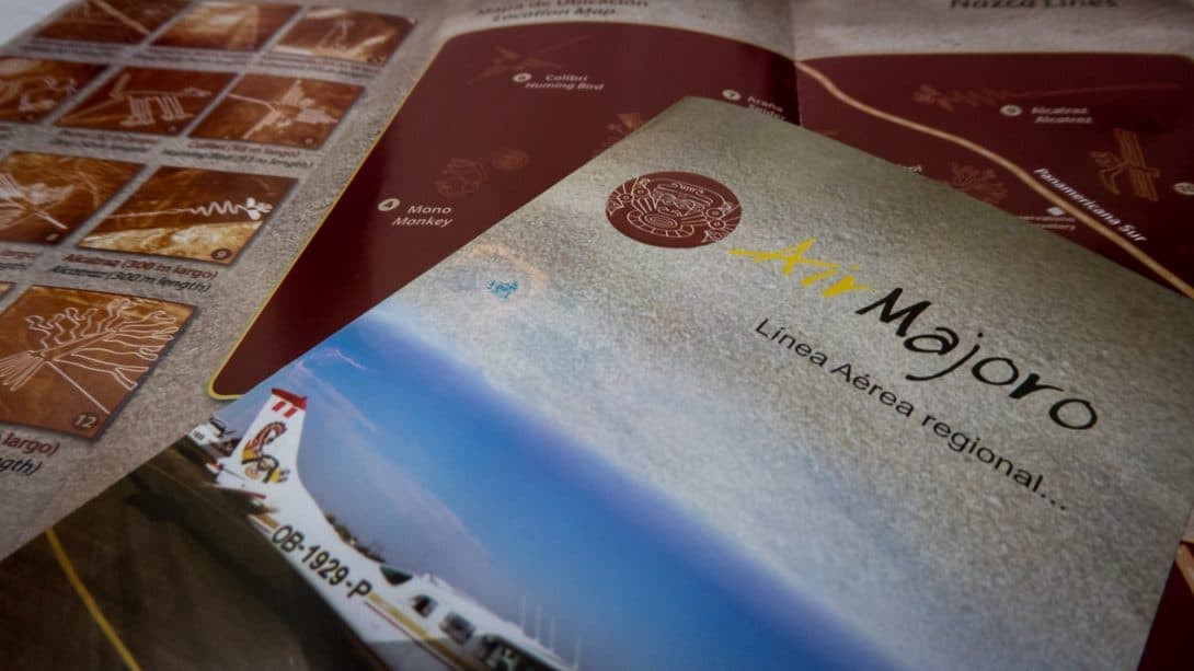 Leaflets about the Nasca Lines