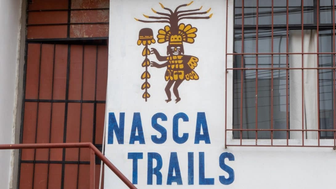 Front of Nasca Trails B&B