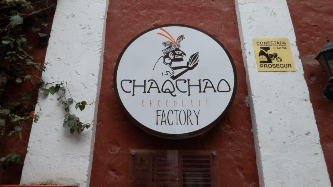 Chaqchao sign