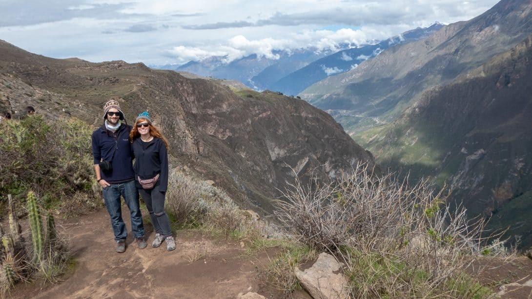 Couple at Colca Canyon, Peru